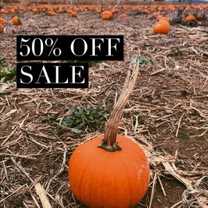 ★ 50% OFF EVERYTHING SALE ★